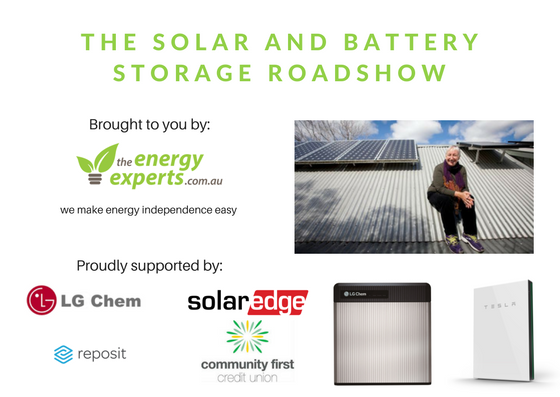 Solar+BatteryStorage Roadshow - The Energy Experts