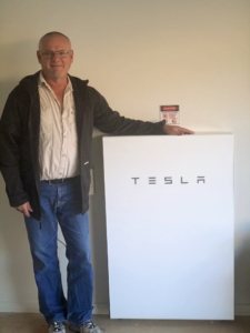 Tesla Powerwall customer