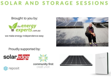 Solar and Storage Sessions by TheEnergyExperts.com.au