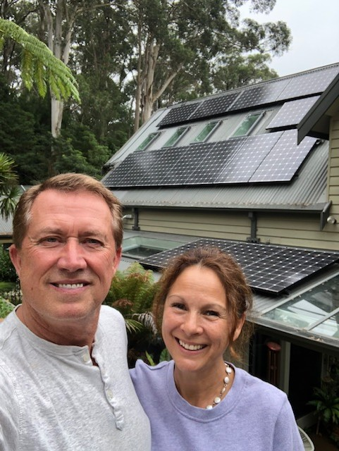 Wayne and Jessie Merrett Solar Panels