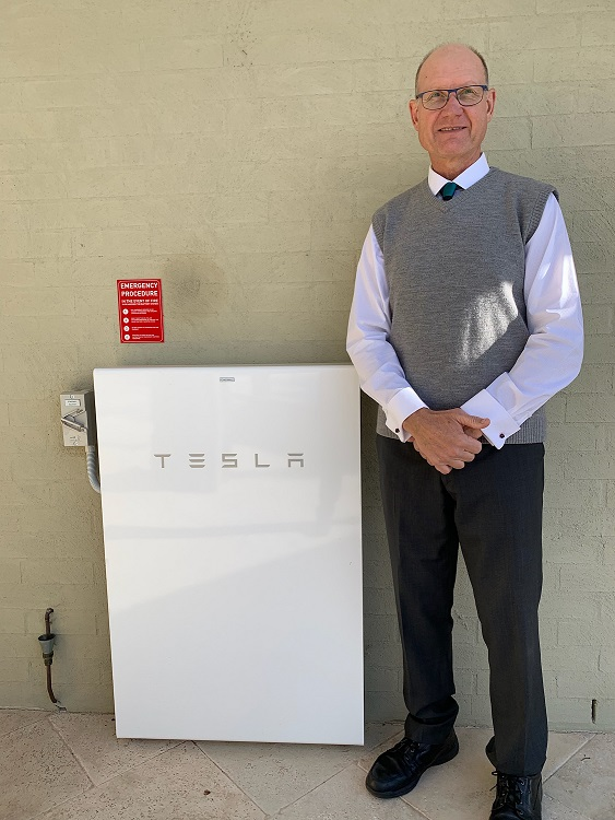 Tesla Battery Storage Installation - Berry