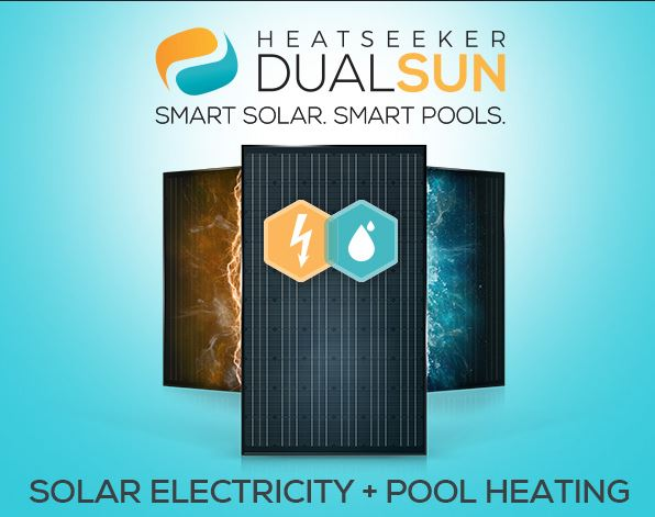 Heatseeker DualSun solar pool heating