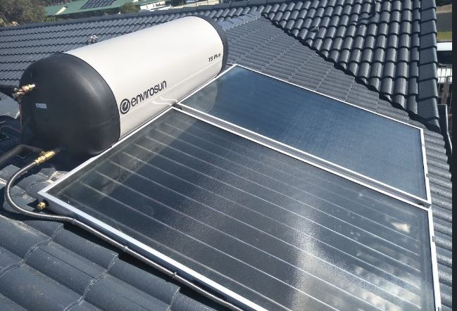 Flat Panel Solar Collector for Solar Hot Water
