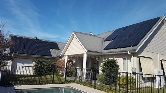 Cameron Gillies Solar Panels on Steep Roof Camden Park