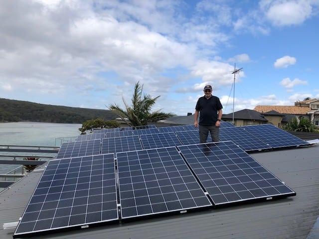 Solar Panel system - Port Hacking